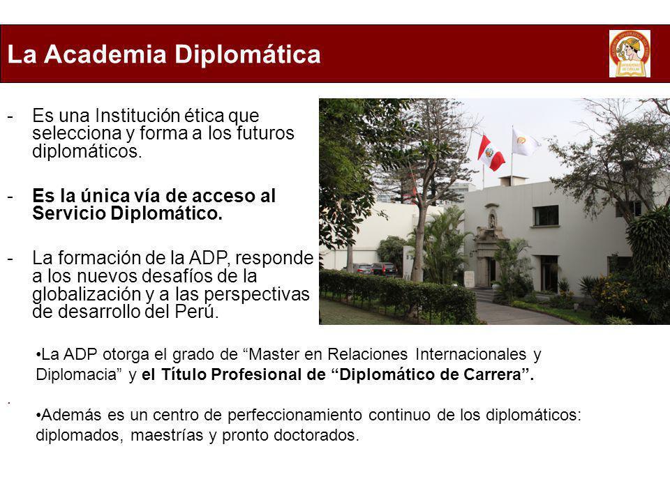 La Academia Diplomática