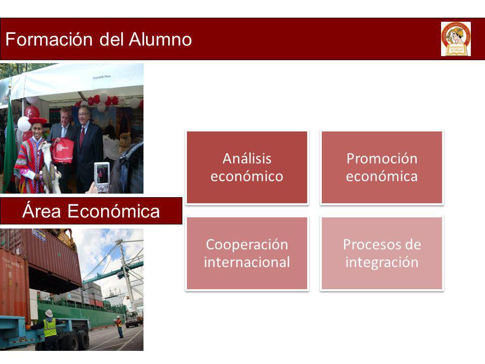 Formación del Alumno Área Económica Análisis económico