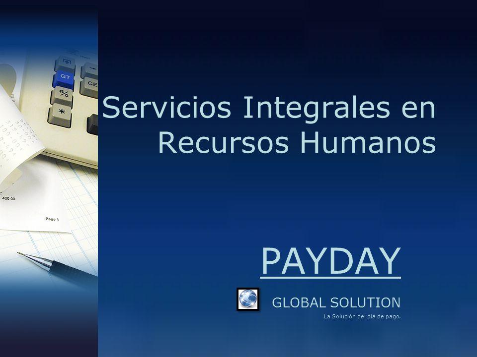 Servicios Integrales en Recursos Humanos