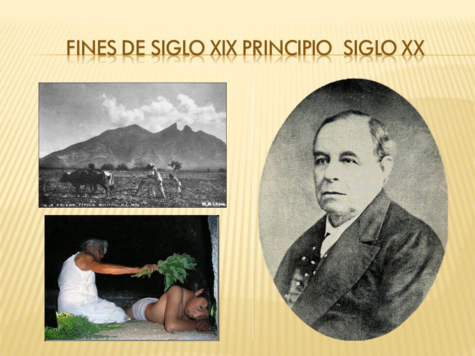 FINES DE SIGLO XIX PRINCIPIO SIGLO XX