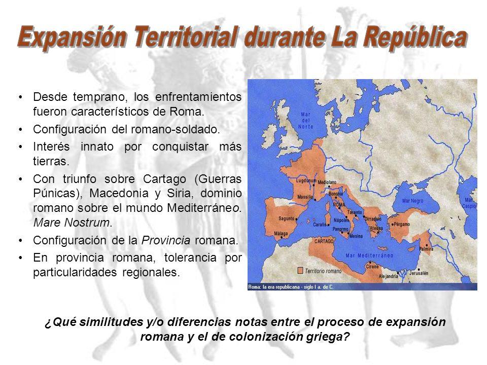 Expansión Territorial durante La República