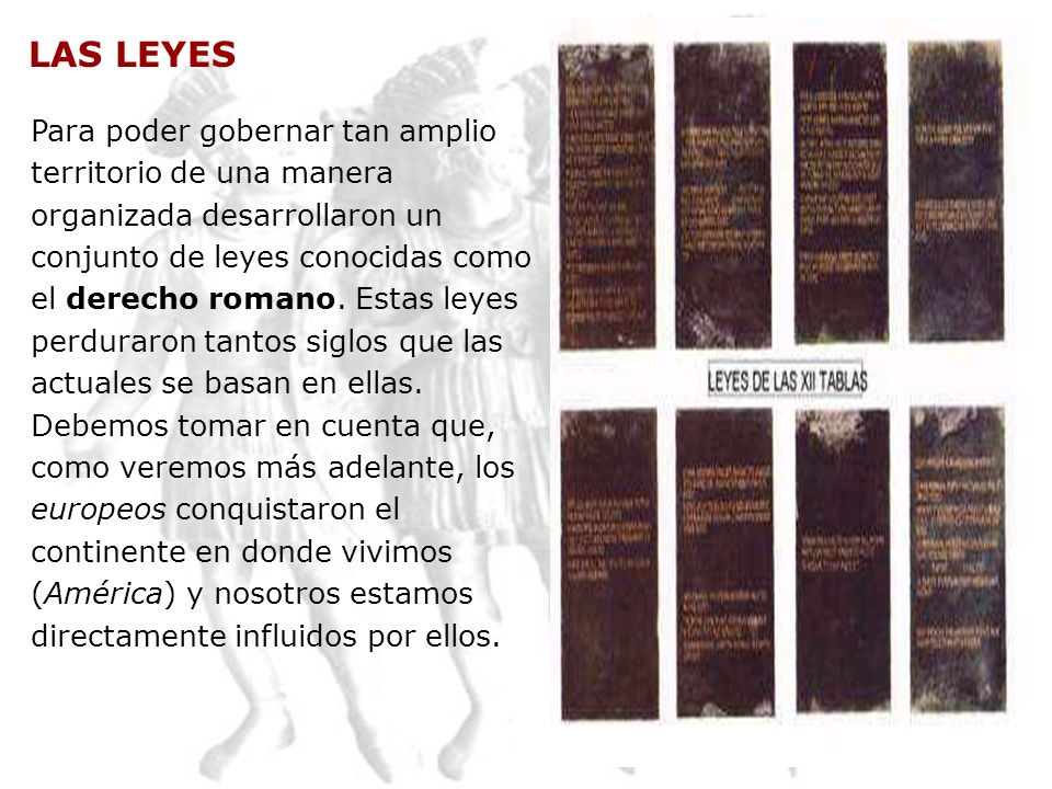 LAS LEYES