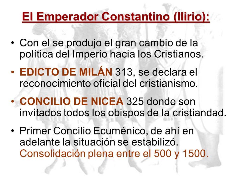 El Emperador Constantino (Ilirio):