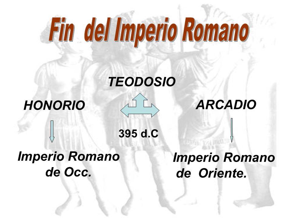 Imperio Romano de Oriente.