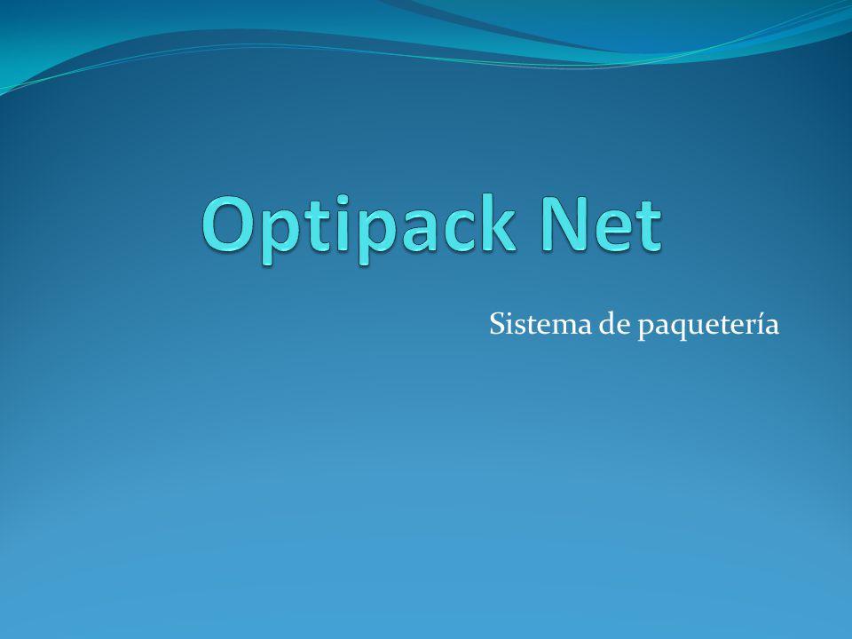 Optipack Net Sistema de paquetería