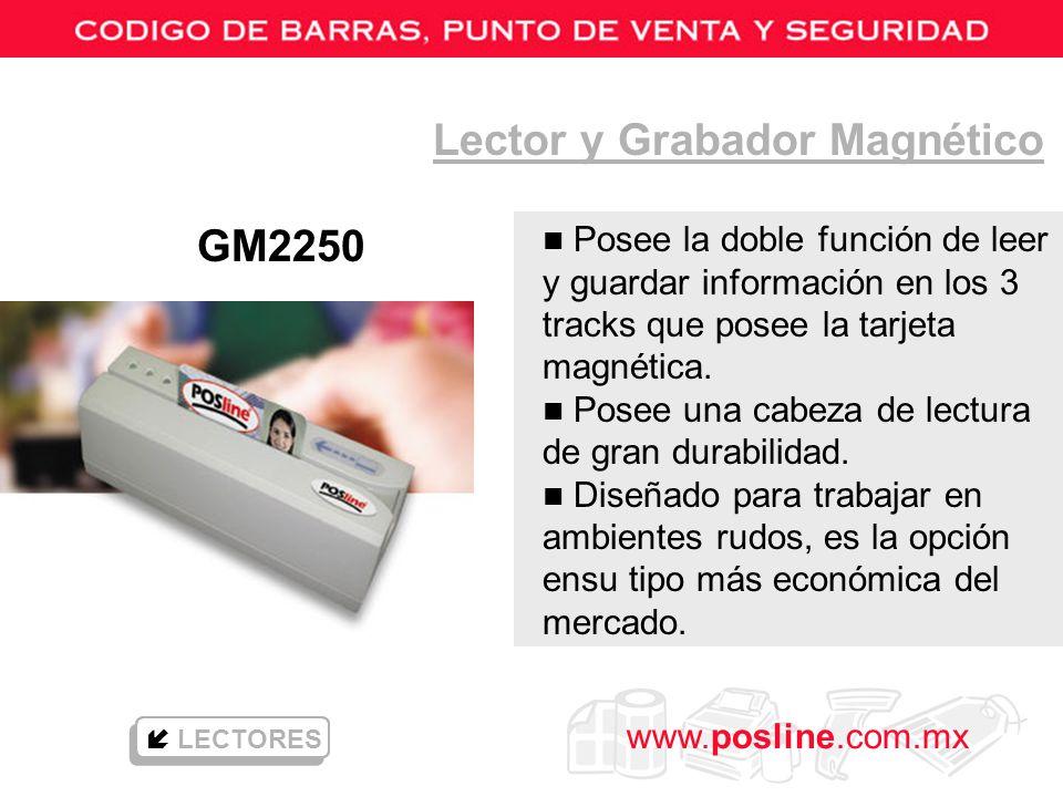 Lector y Grabador Magnético