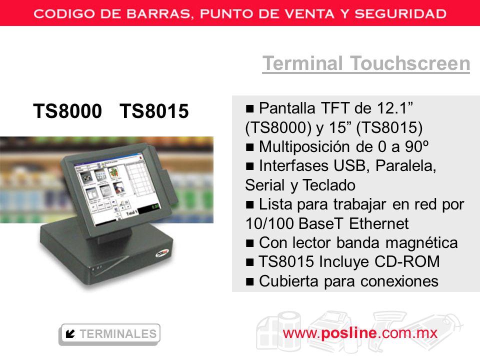 Terminal Touchscreen TS8000 TS8015