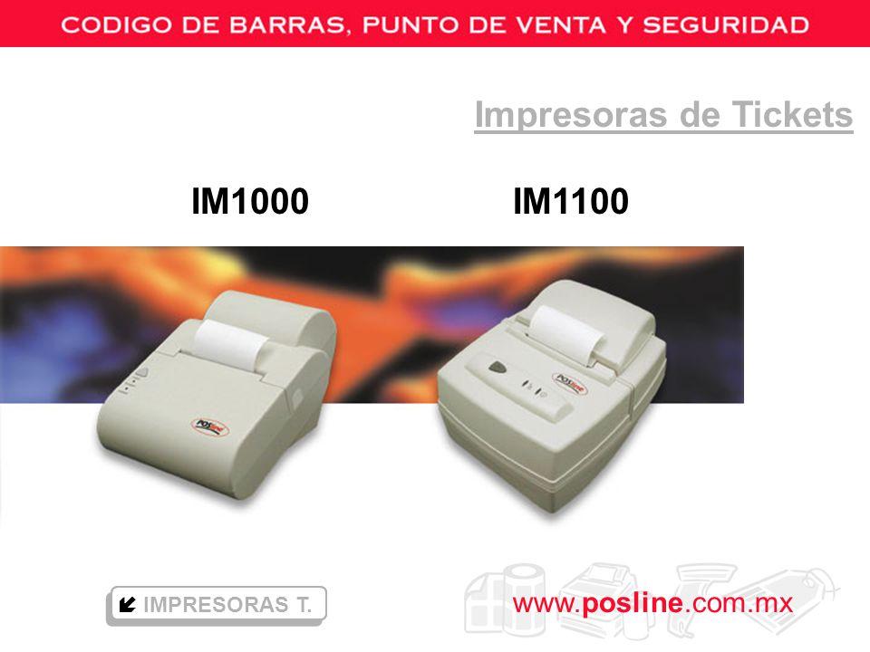 Impresoras de Tickets IM1000 IM1100  IMPRESORAS T.