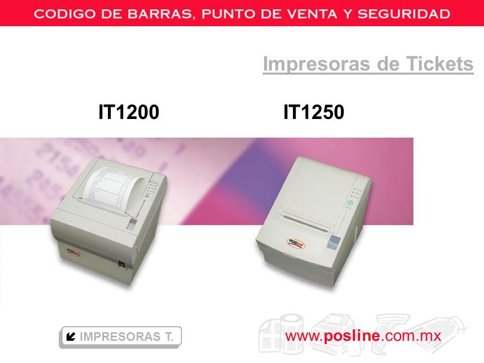 Impresoras de Tickets IT1200 IT1250  IMPRESORAS T.