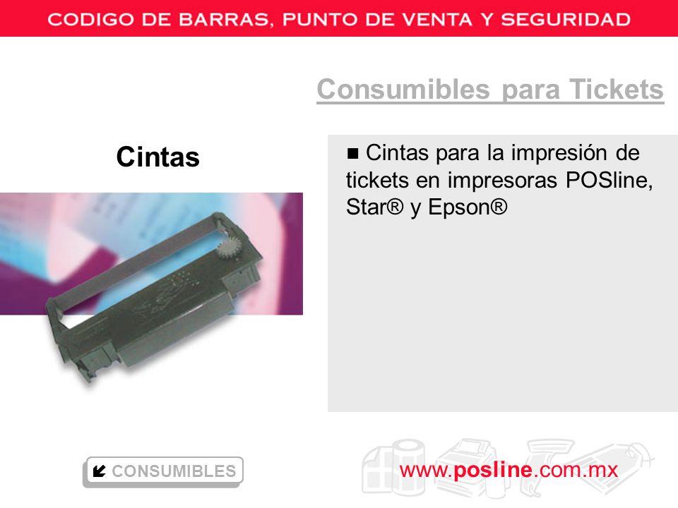 Consumibles para Tickets