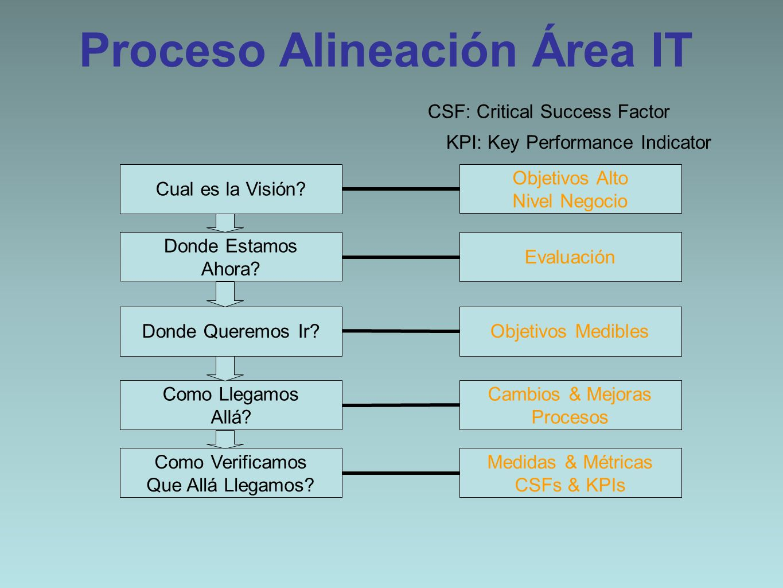 Proceso Alineación Área IT