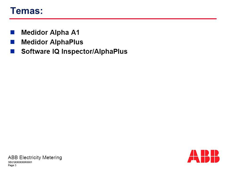 Temas: Medidor Alpha A1 Medidor AlphaPlus