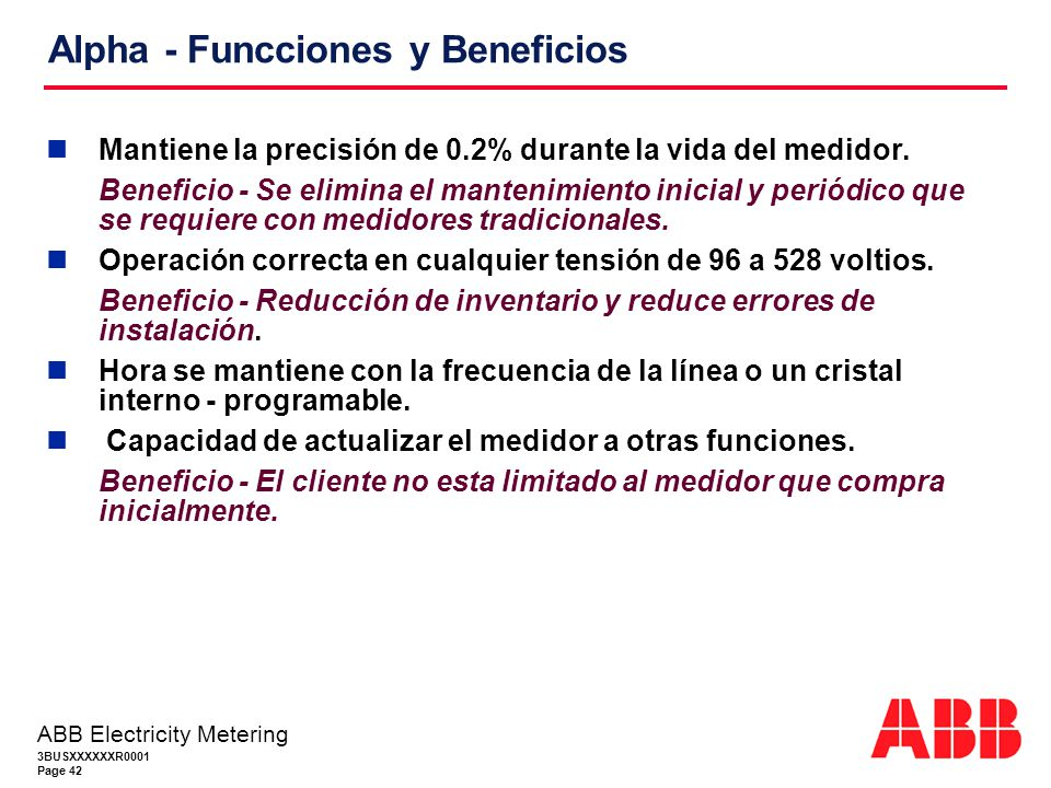 Alpha - Funcciones y Beneficios