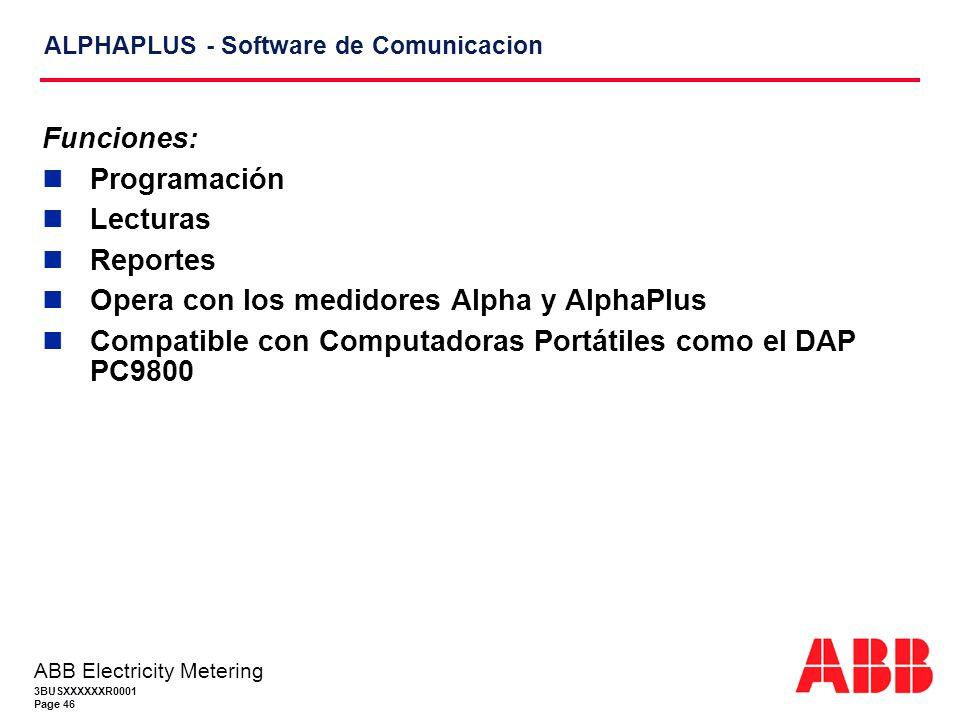 ALPHAPLUS - Software de Comunicacion
