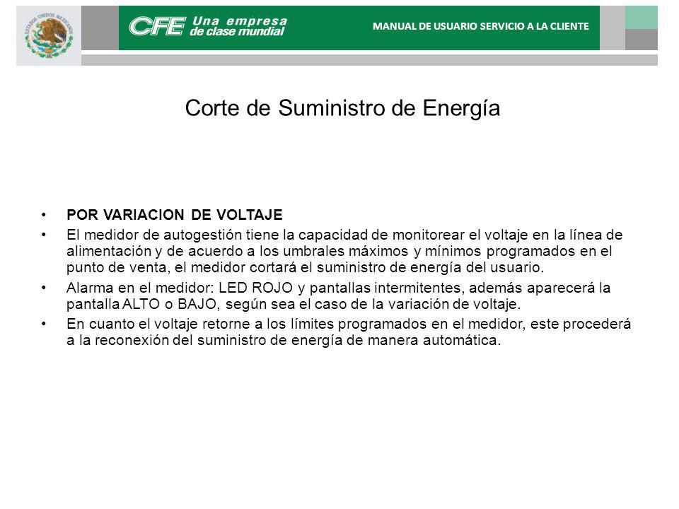 Corte de Suministro de Energía