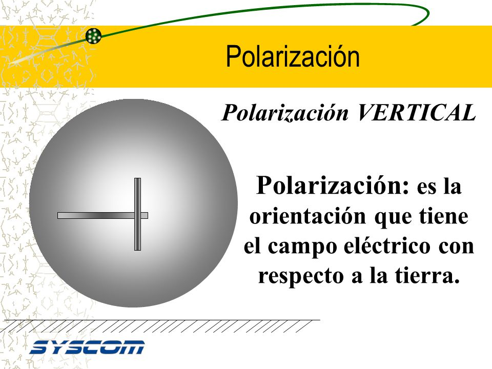 Polarización VERTICAL
