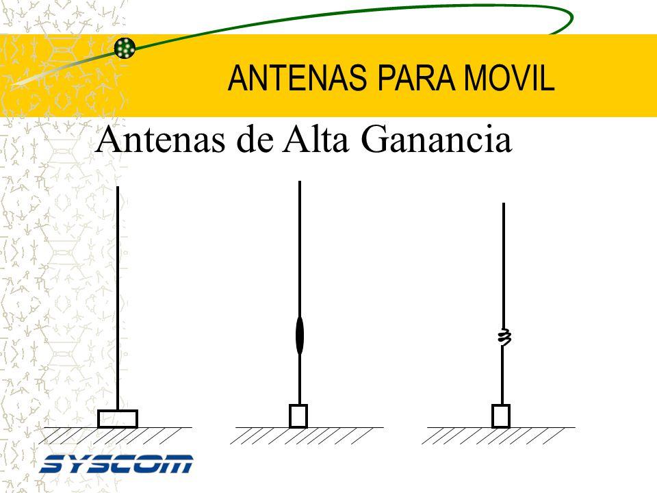 Antenas de Alta Ganancia