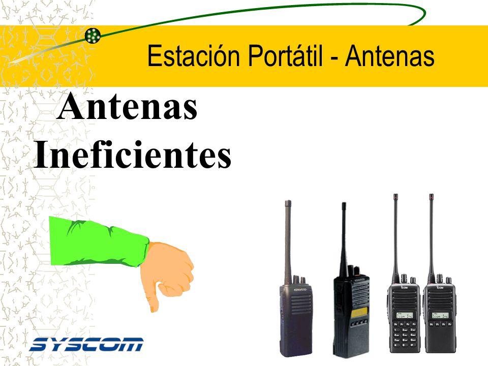 Estación Portátil - Antenas