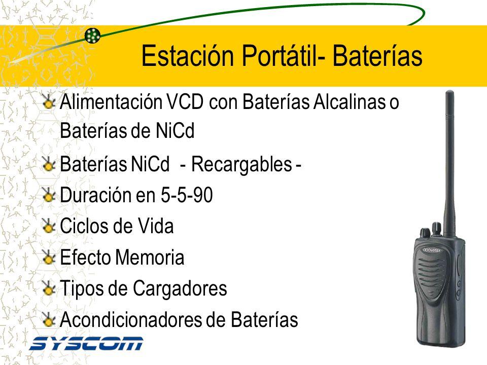Estación Portátil- Baterías