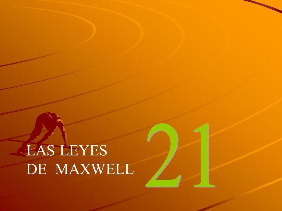 21 LAS LEYES DE MAXWELL