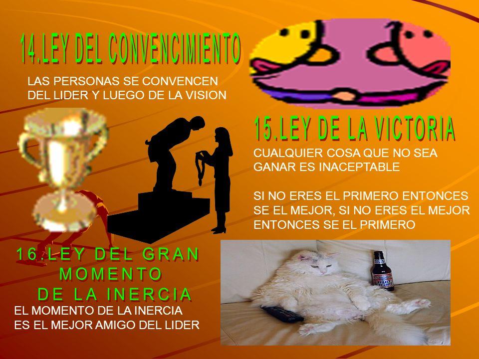 14.LEY DEL CONVENCIMIENTO