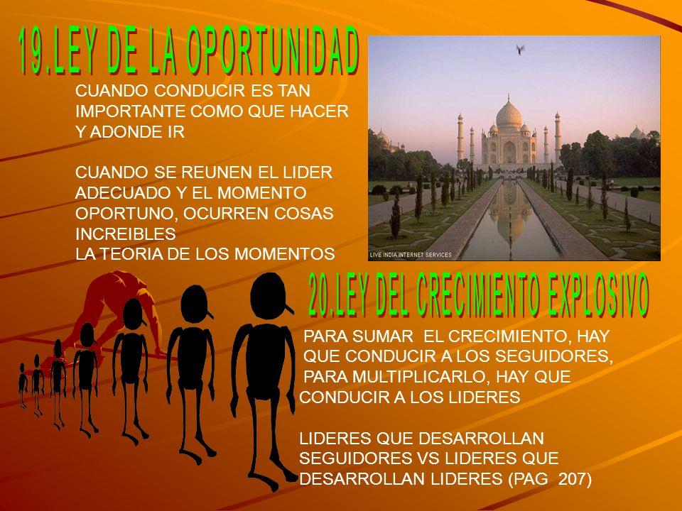 20.LEY DEL CRECIMIENTO EXPLOSIVO