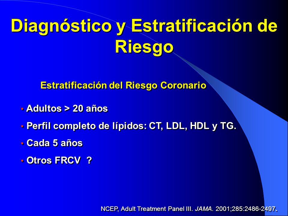 Diagnóstico y Estratificación de Riesgo