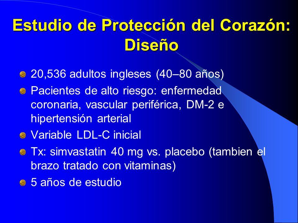 Estudio de Protección del Corazón: Diseño