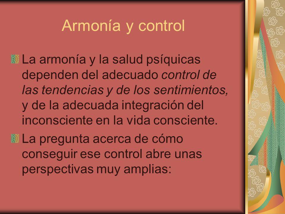 Armonía y control