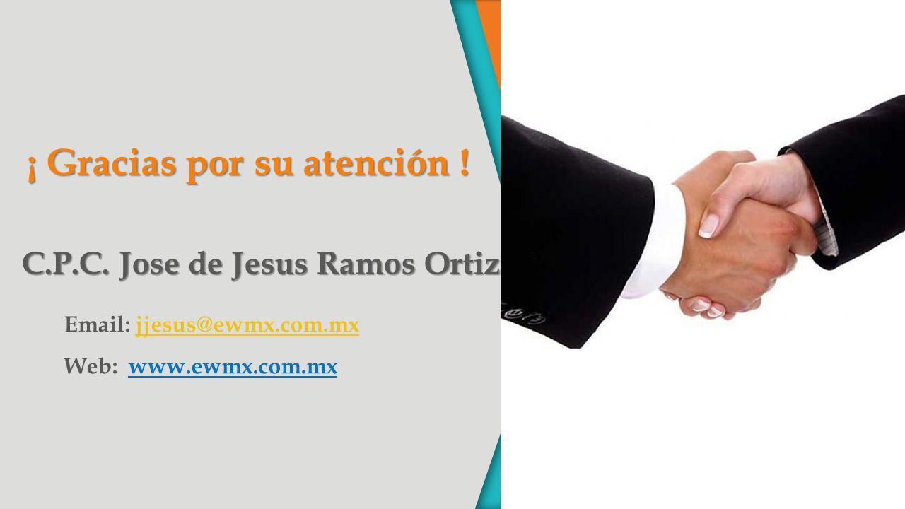 C.P.C. Jose de Jesus Ramos Ortiz