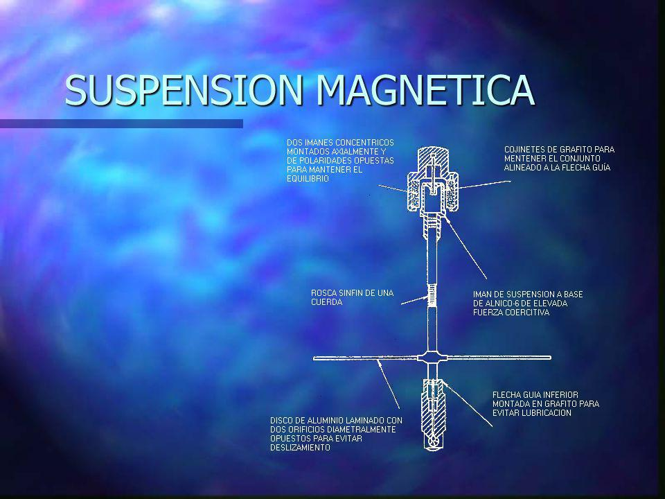 SUSPENSION MAGNETICA