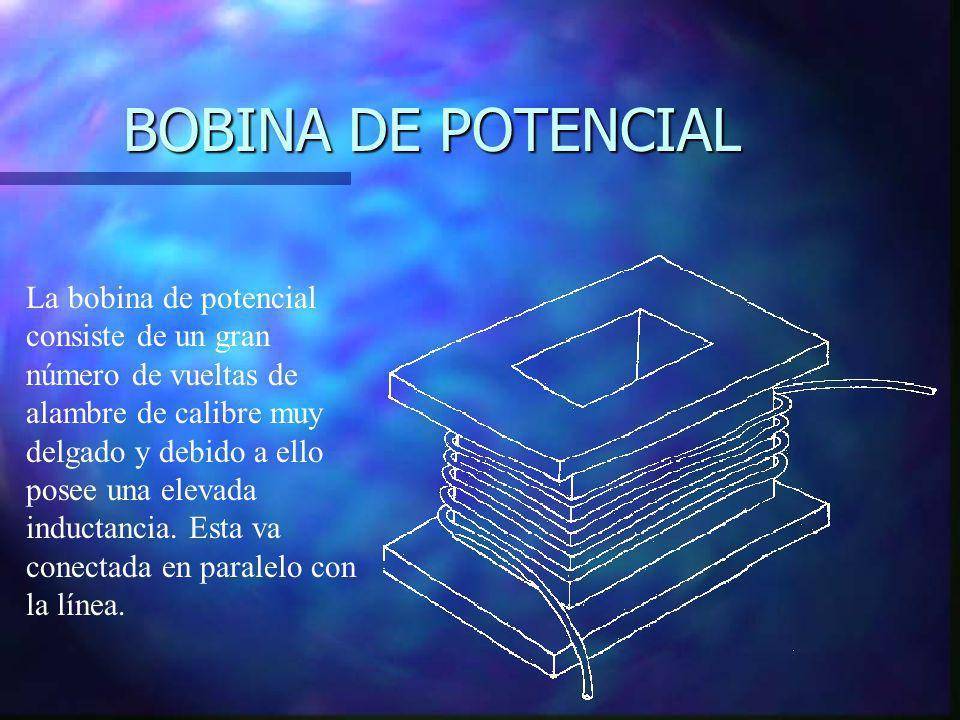 BOBINA DE POTENCIAL