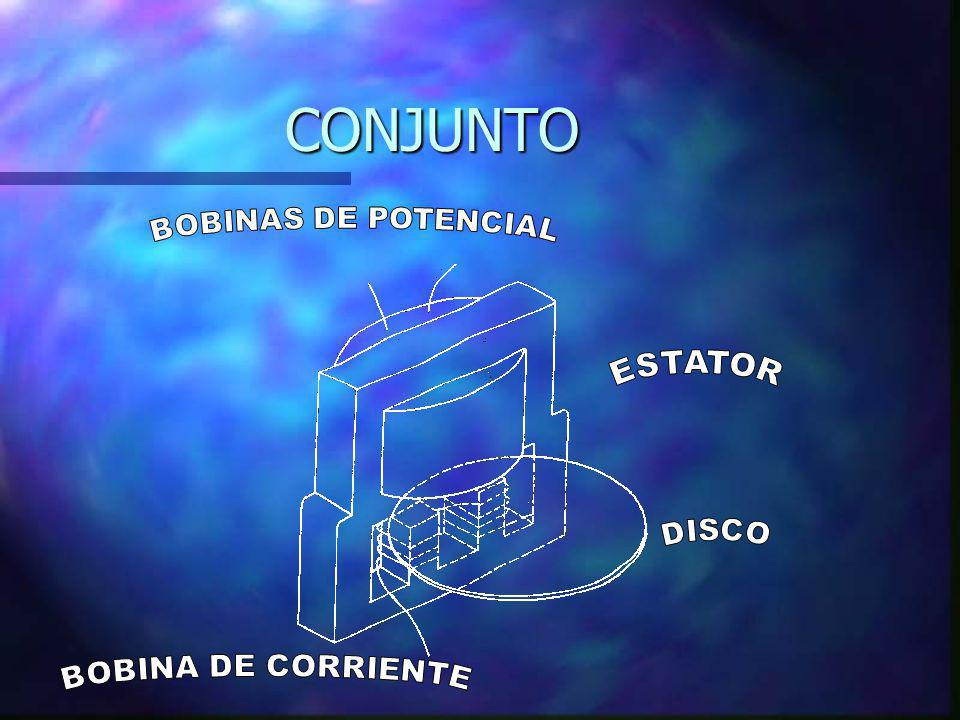 CONJUNTO BOBINAS DE POTENCIAL ESTATOR DISCO BOBINA DE CORRIENTE