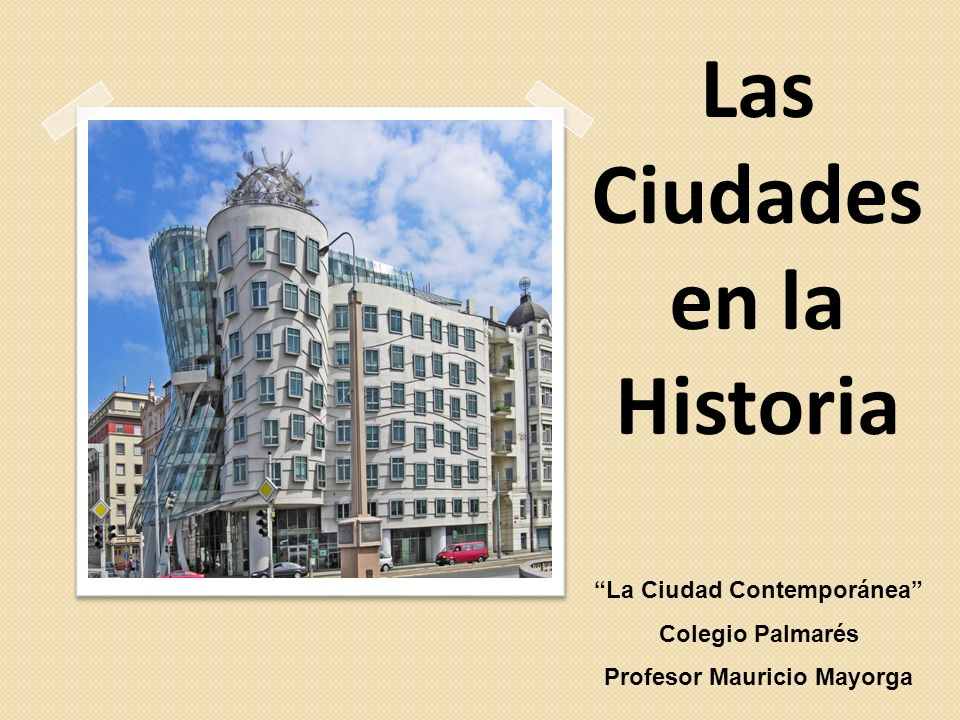 Las Ciudades en la Historia