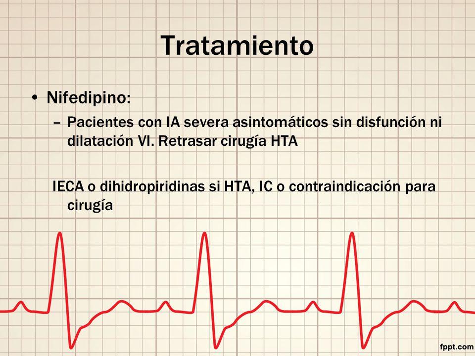 Tratamiento Nifedipino: