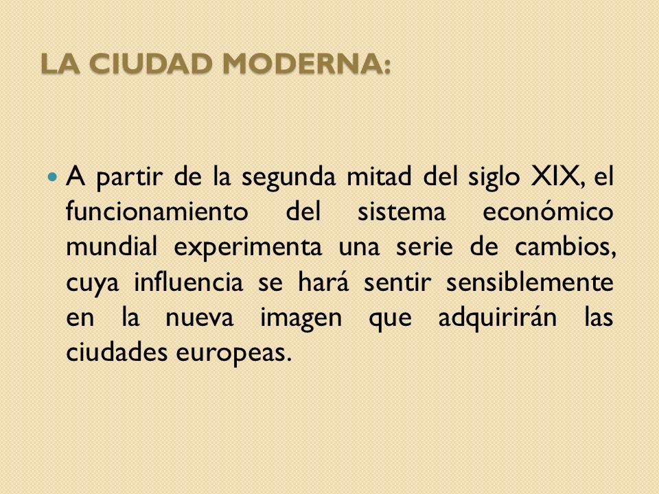 La ciudad Moderna: