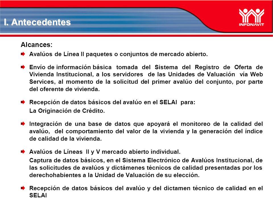 I. Antecedentes Alcances: