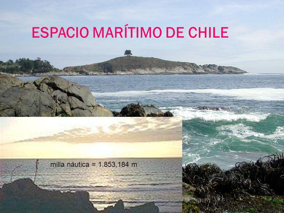 ESPACIO MARÍTIMO DE CHILE