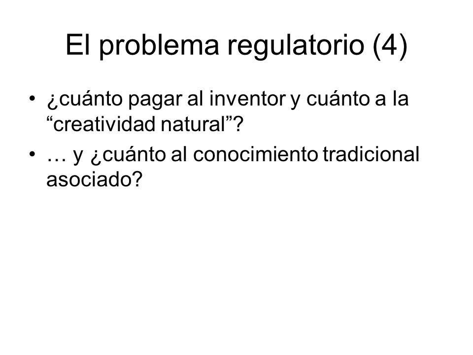 El problema regulatorio (4)