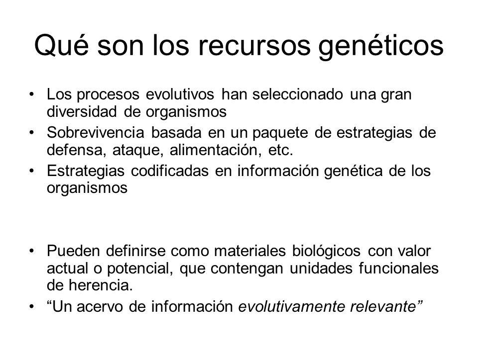 Qué son los recursos genéticos