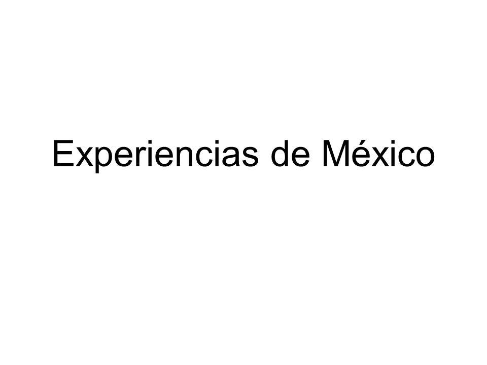 Experiencias de México