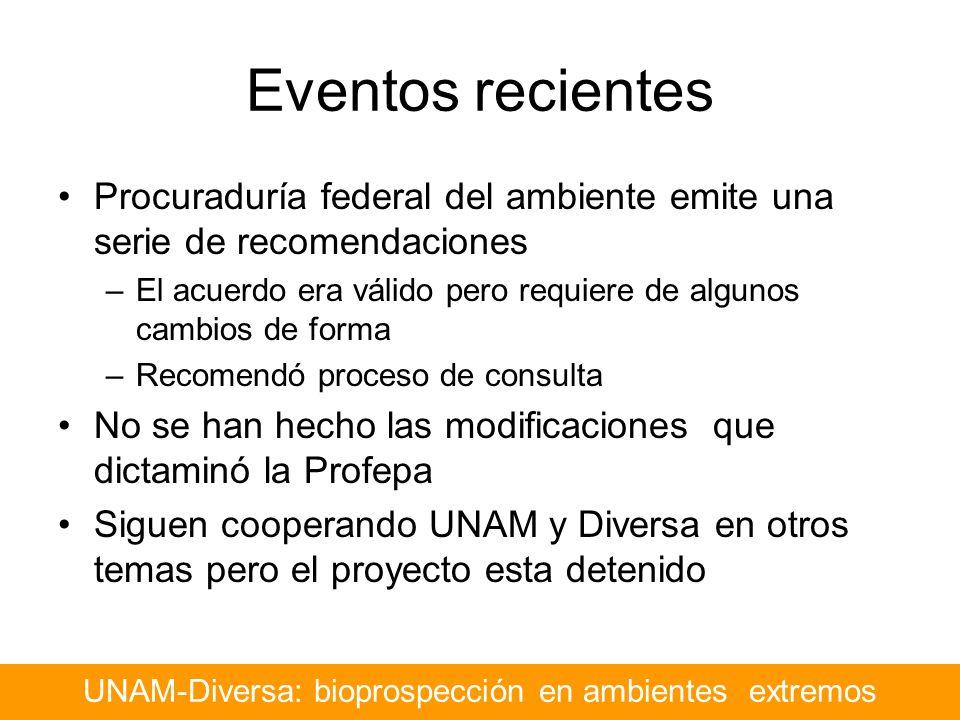 UNAM-Diversa: bioprospección en ambientes extremos
