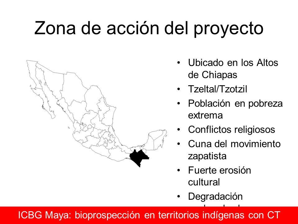 Zona de acción del proyecto