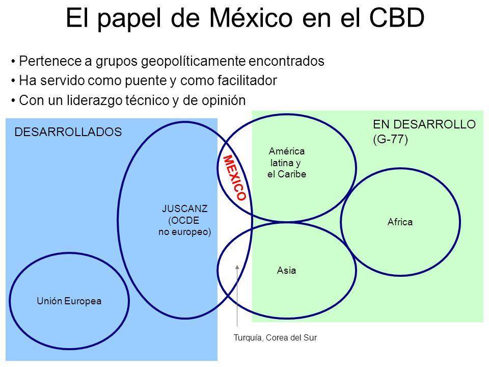 El papel de México en el CBD