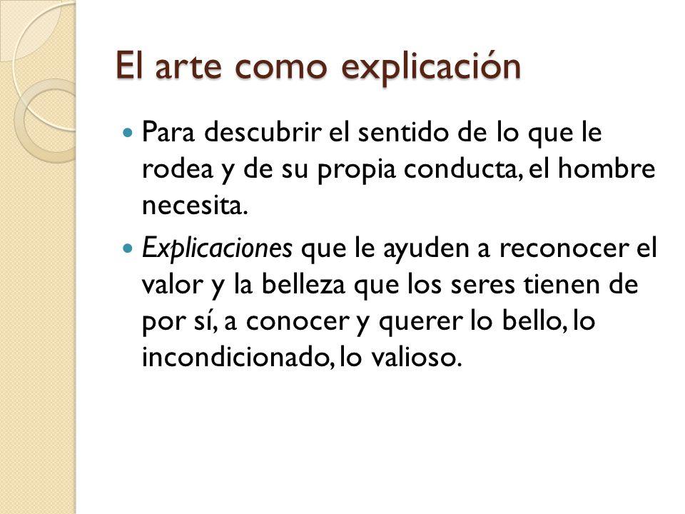 El arte como explicación