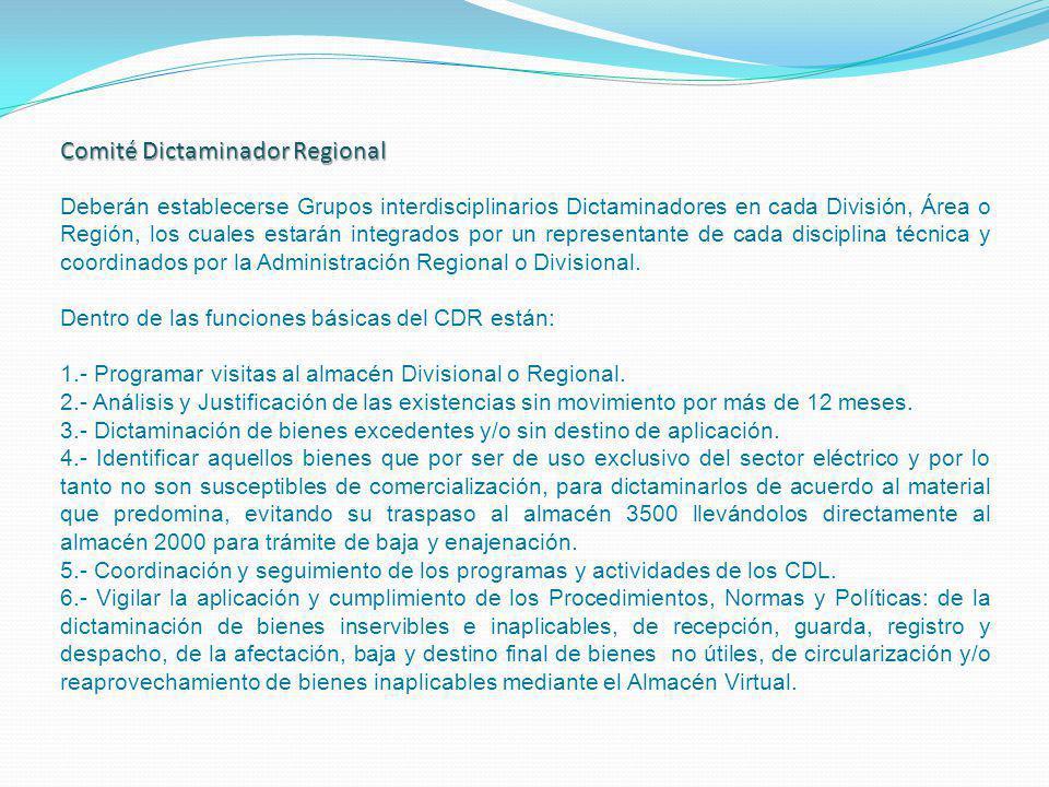 Comité Dictaminador Regional