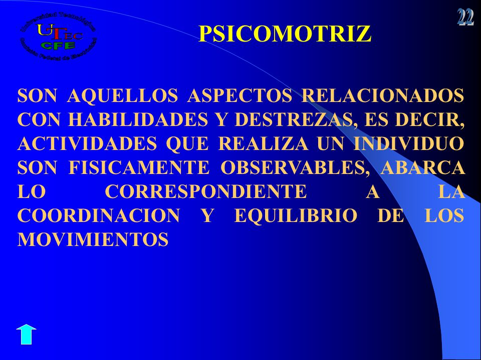 22 PSICOMOTRIZ.