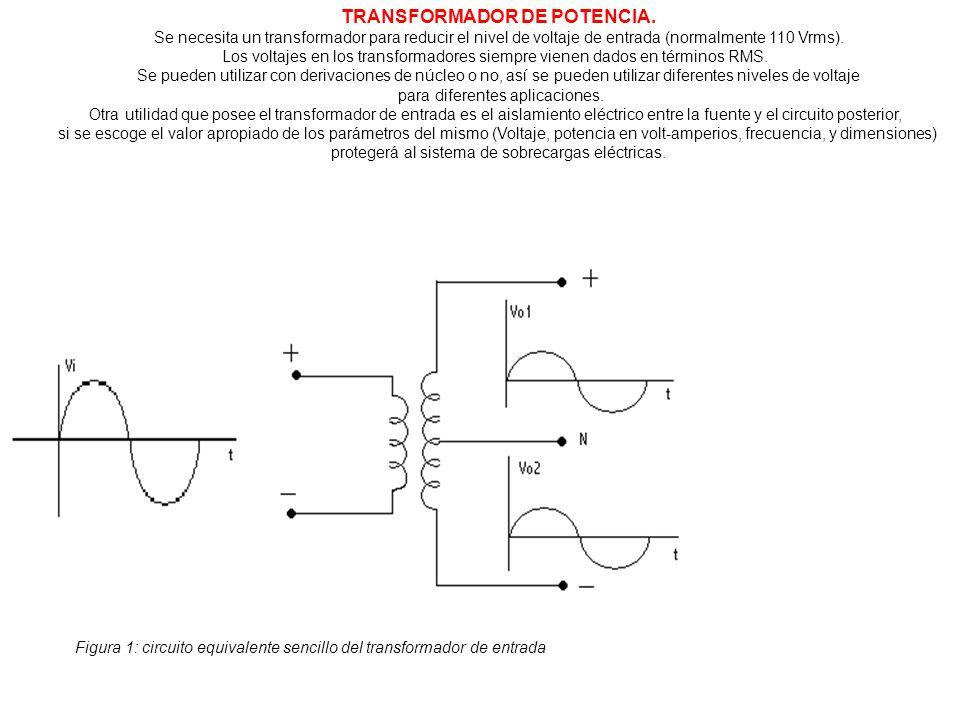 TRANSFORMADOR DE POTENCIA.