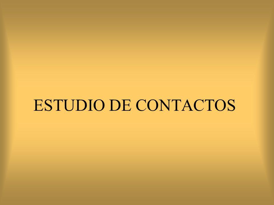 ESTUDIO DE CONTACTOS