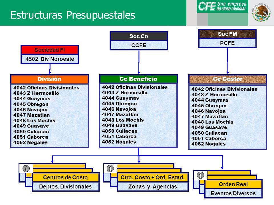 Estructuras Presupuestales